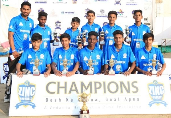 Rajsamand FC - U14 Boys Winner