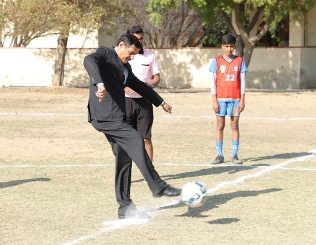 Bikaner Football Academy qualifies for State Championship from Bikaner zone